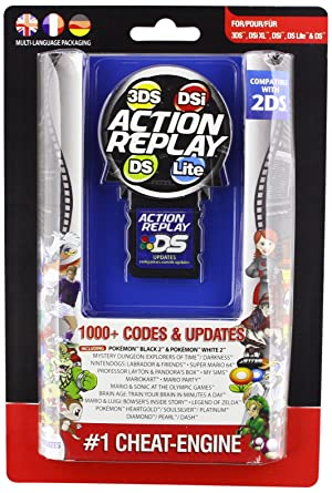 Amazon com: Datel Action Replay Cheat System (3DS/DSi XL/DSi/DS Lite