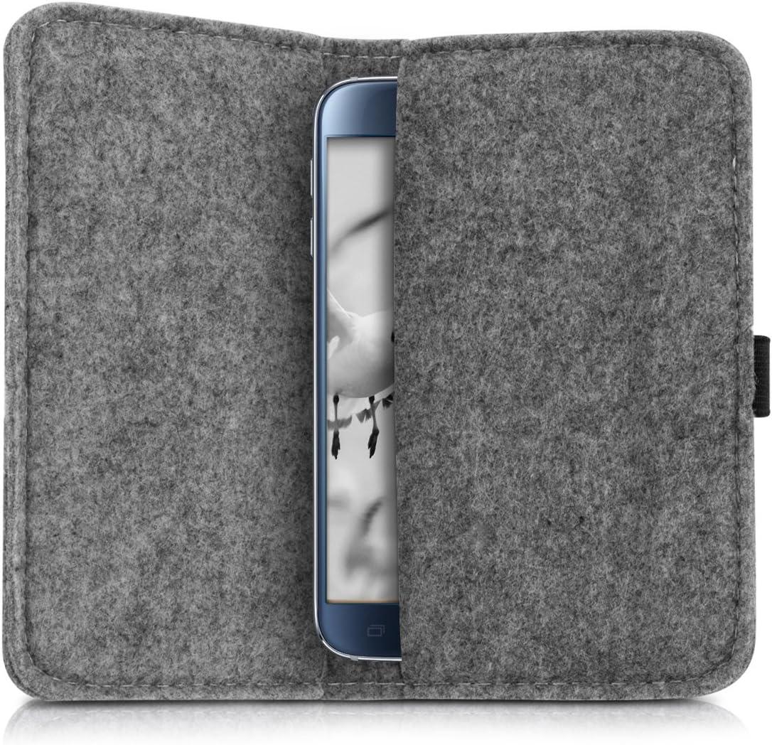 kwmobile Funda para Tablet Smartphone - Carcasa de Fieltro para ...