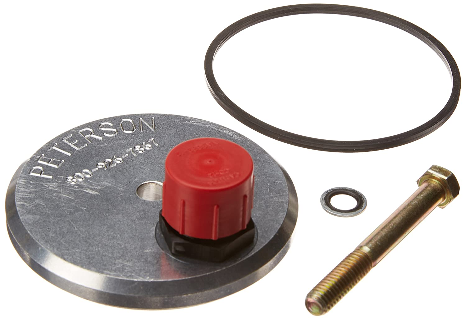 Peterson Fluid Systems 09-0002 Oil Filter Block Off Plate