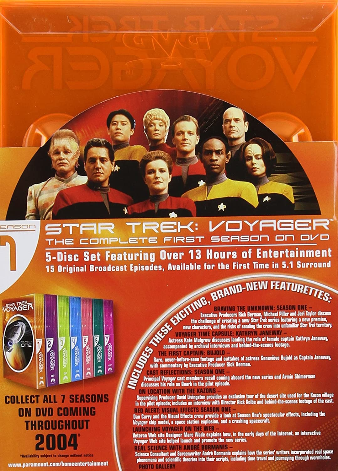 Amazon com: Star Trek Voyager: The Complete Series: Kate