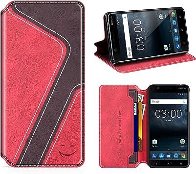MOBESV Smiley Funda Cartera Nokia 3, Funda Cuero Movil Nokia 3 Carcasa Case con Billetera/Soporte para Nokia 3: Amazon.es: Electrónica