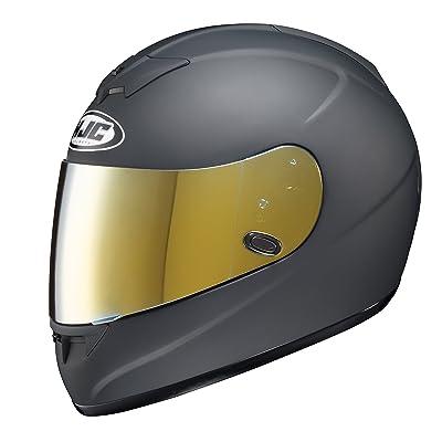 HJC Helmets HJ-09 RST Mirror Gold Shield For AC-12, CL-15, CL-16,CL-17,CL-SP,CS-R1,CS-R2,FS-10, FS-15, IS-16, FG-15: Automotive