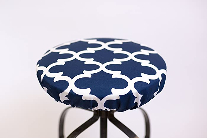 amazon com round barstool cover for seats 12 to 20 inches in