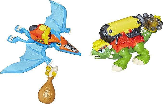 Hasbro Playskool Heroes Chomp Squad Construcción Crew: Amazon.es: Juguetes y juegos