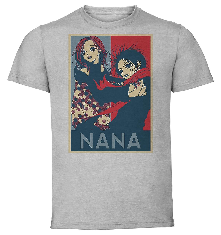 Instabuy T-Shirt Unisex Propaganda Maglietta Grigia Nana Nana Variant