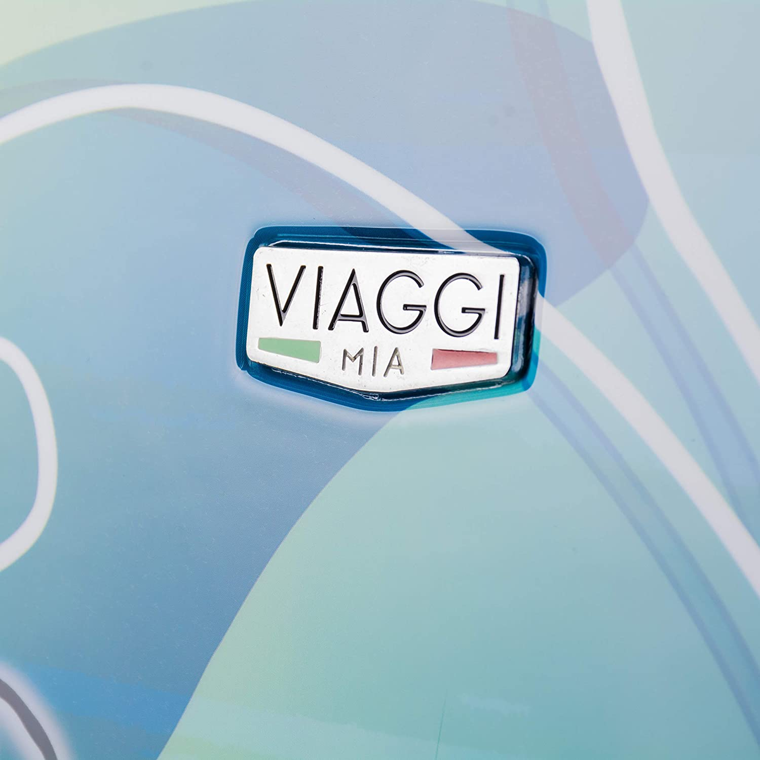 Viaggi Mia Italy Butterfly Hardside Spinner Carry