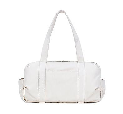 e7607f10c9 Amazon.com  Karitco Unisex Plain Cotton Canvas Tote Shoulder Bag (Canvas  Beige)  Shoes