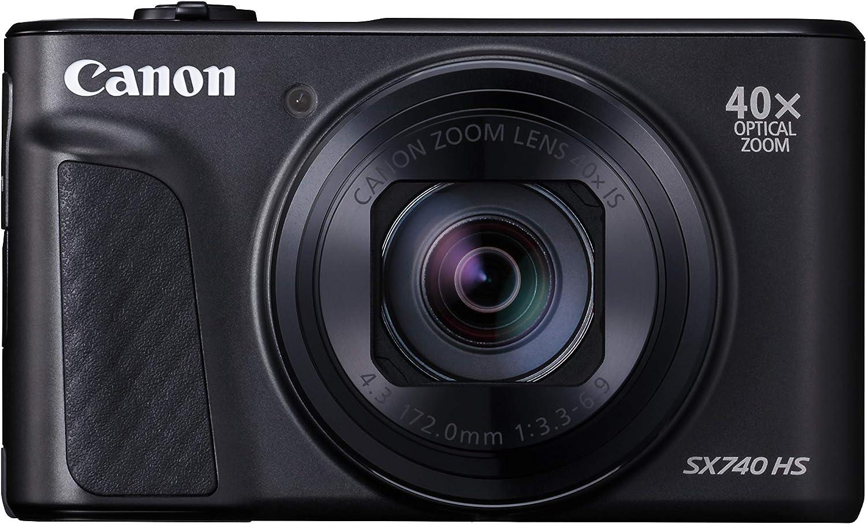Canon 光学40倍ズーム PowerShot SX740 HS