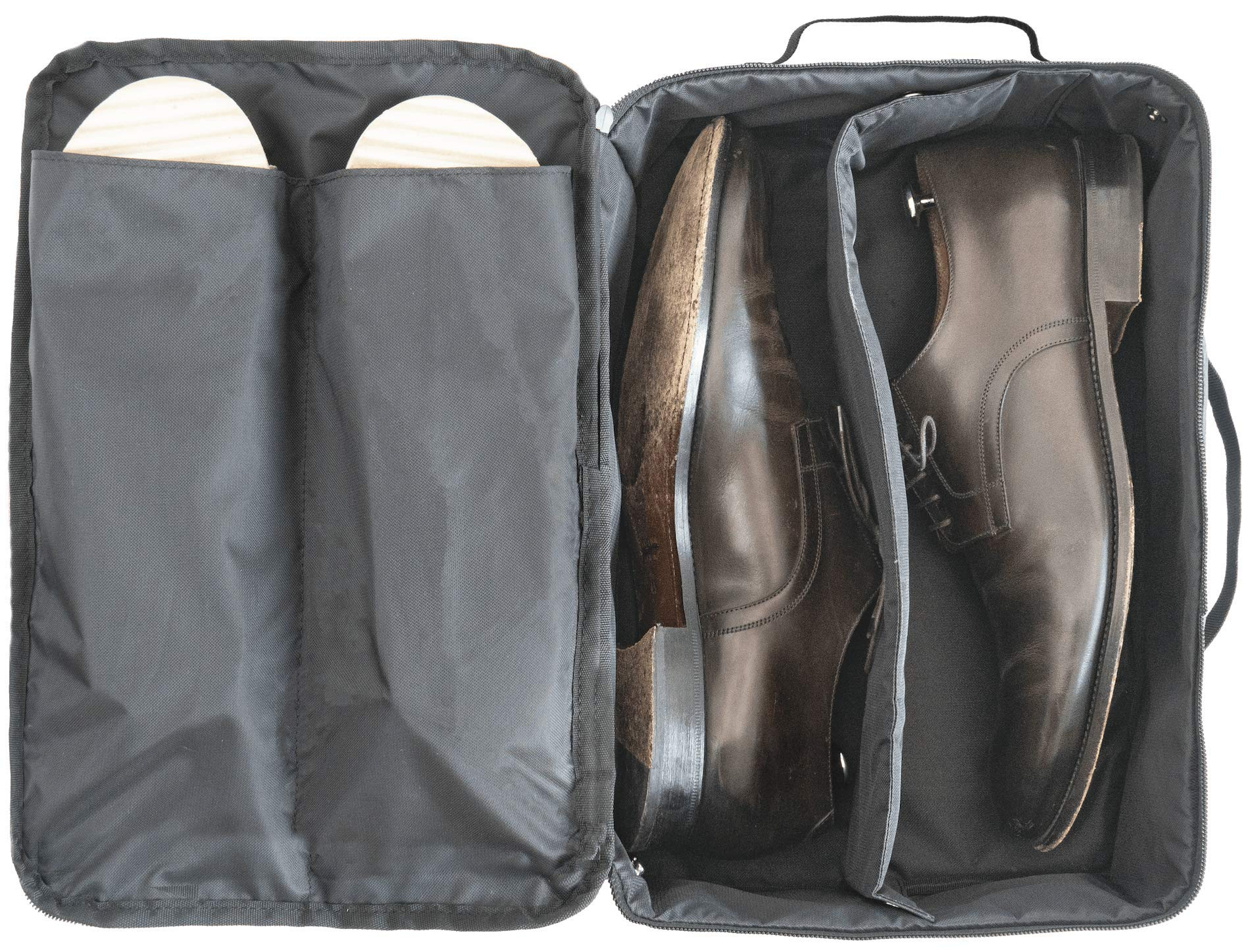 DEGELER Shoe Bag for effortless traveling | Water-resistant Shoe organizer for carry-on luggage travel accessory by DEGELER