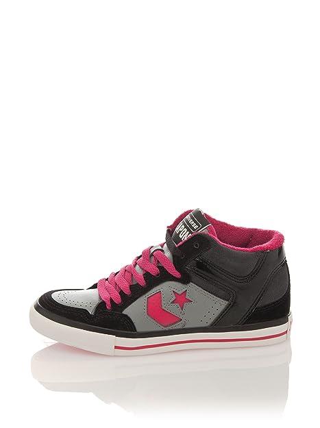 3977ce704 Converse Zapatillas Lady Weapon Mid Suede Leather  Amazon.es  Zapatos y  complementos