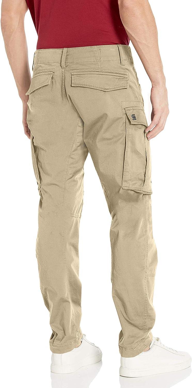 G STAR RAW Rovic Zip 3D Straight Tapered Pantalon Homme