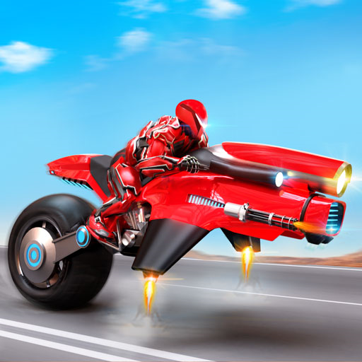 Flying Police Hover Bike Transform Robot Bike Games: The Best Moto Robot Transforming Games With Mech Robots. Fight In Robot Shooting Games With Hover Bike & Do Police Chase In Police Bike Games Free