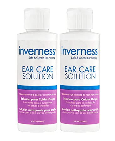 como cuidar un nuevo piercing en la oreja