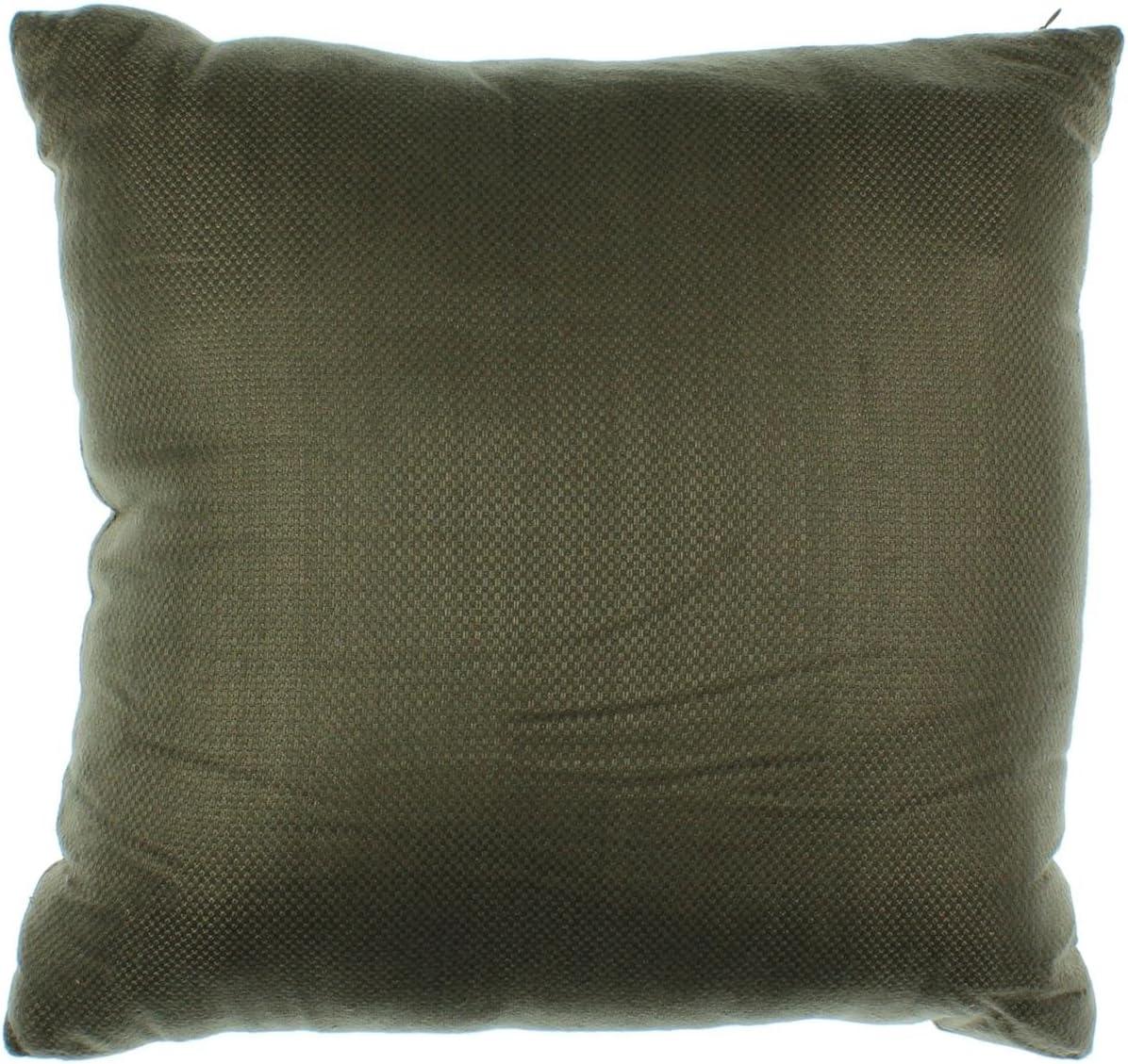 Oake Simple Jacquard Decorative Throw Pillow Brown