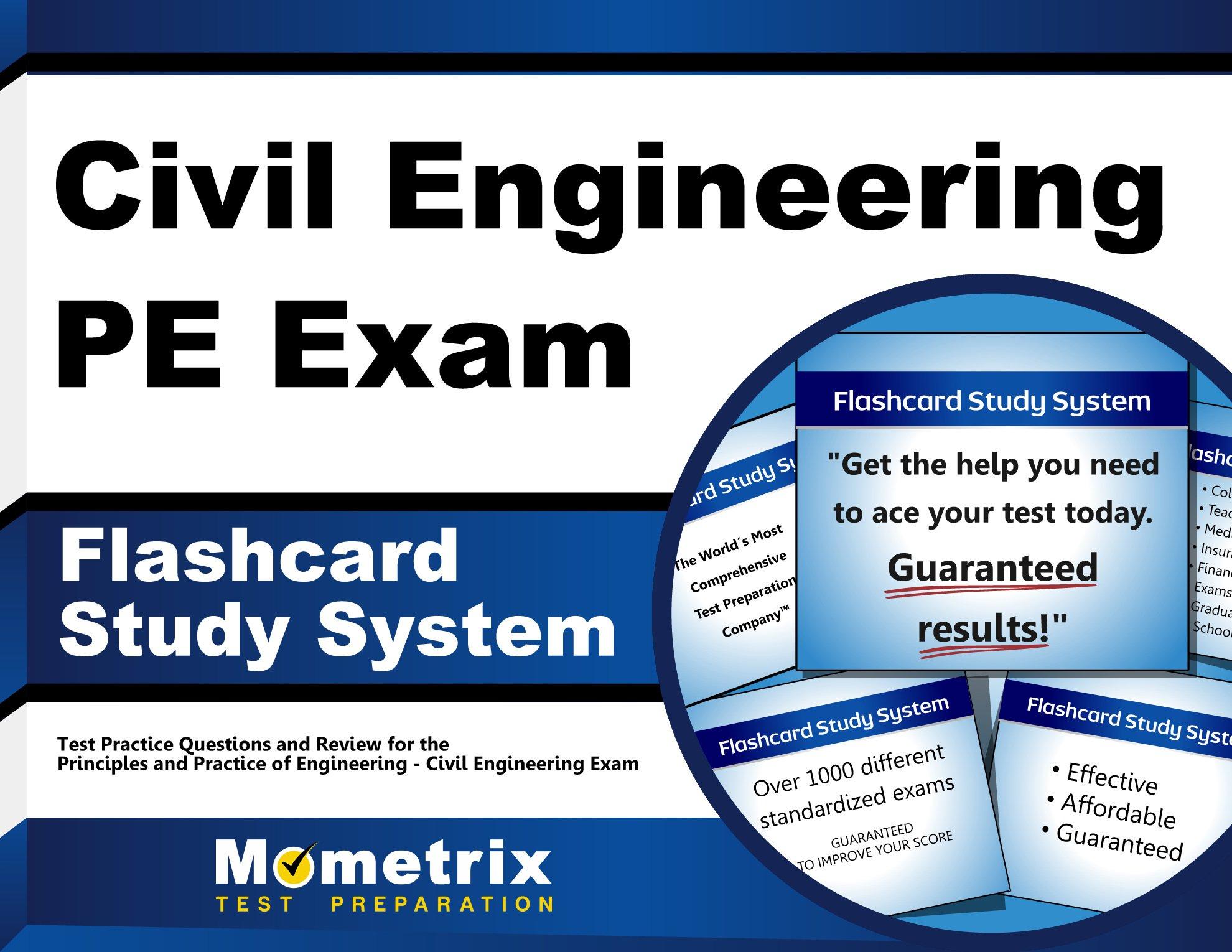 Buy Civil Engineering Pe Exam Study System Civil Engineering Pe