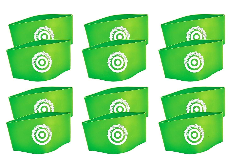 f60ee8597551 Amazon.com : Unique Sports 12 Hot Spots Lace Bands Neon Green Soccer Shoe  Lace Cover (6 Pair) : Home Improvement
