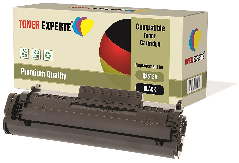 Kit 2 TONER EXPERTE® Q2612A 12A Toner compatibili per HP Laserjet 1010, 1012, 1015, 1018, 1020, 1020+, 1022, 1022N, 1022NW, 3010, 3015, 3020, 3030, 3050, 3052, 3055, M1005 MFP, M1319F MFP HP Q2612X Toner XXL