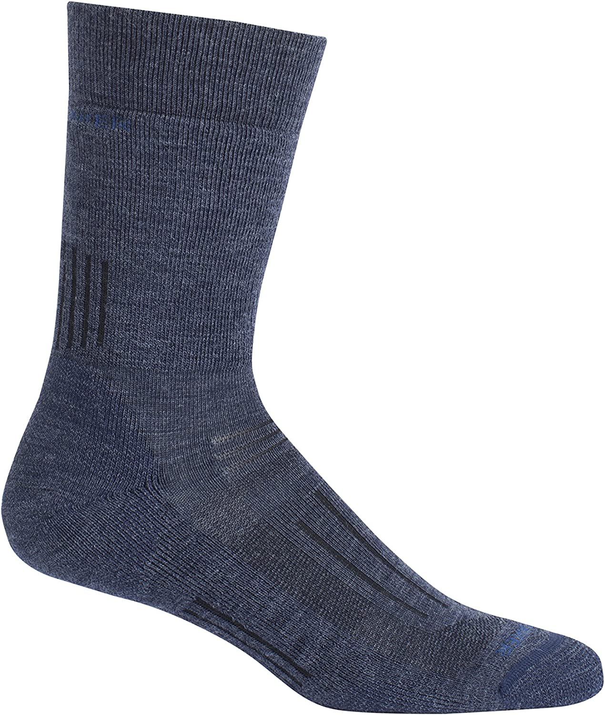 Icebreaker Merino Hike Medium Cushion Merino Wool Crew Socks