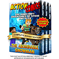 Action Comics Boxset: The Minecraft Adventures of Steve and Alex: The Abominable Snowman - Expanded Boxset Edition…