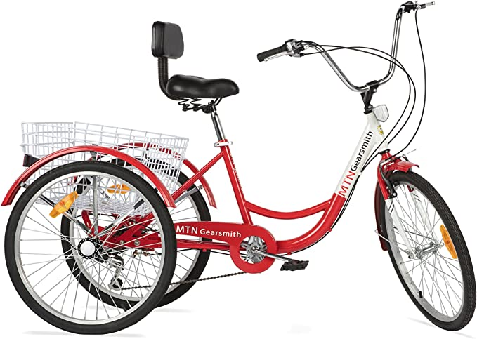 Best Adult Tricycle: Komodo Cycling Adult Tricycle