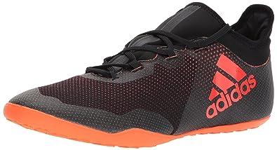 adidas Men's X Tango 17.3 in Soccer Shoe, Black/Solar Red/Solar Orange