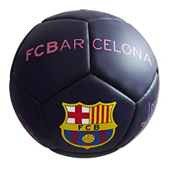 SELECCION DRIM F.C. Barcelona Pelota Mediana Lila: Amazon.es ...