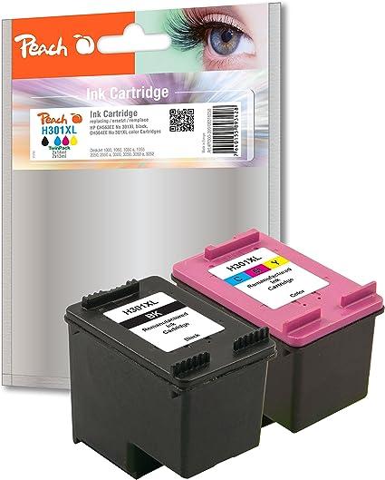 Amazon.com: Peach PI300 – 399 Multi Pack cartucho para HP ...