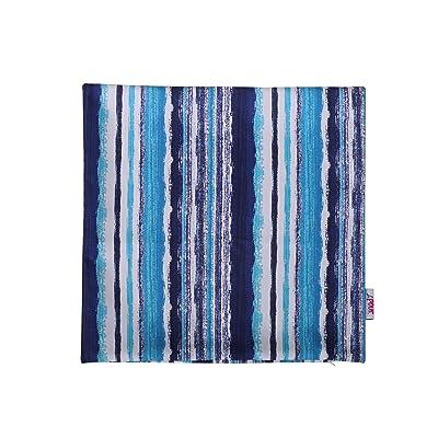Christopher Knight Home 311813 Truda Outdoor Pillow Cover, Blue : Garden & Outdoor