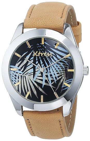 XTRESS Reloj Analógico para Hombre de Cuarzo con Correa en Cuero XBA1035-10
