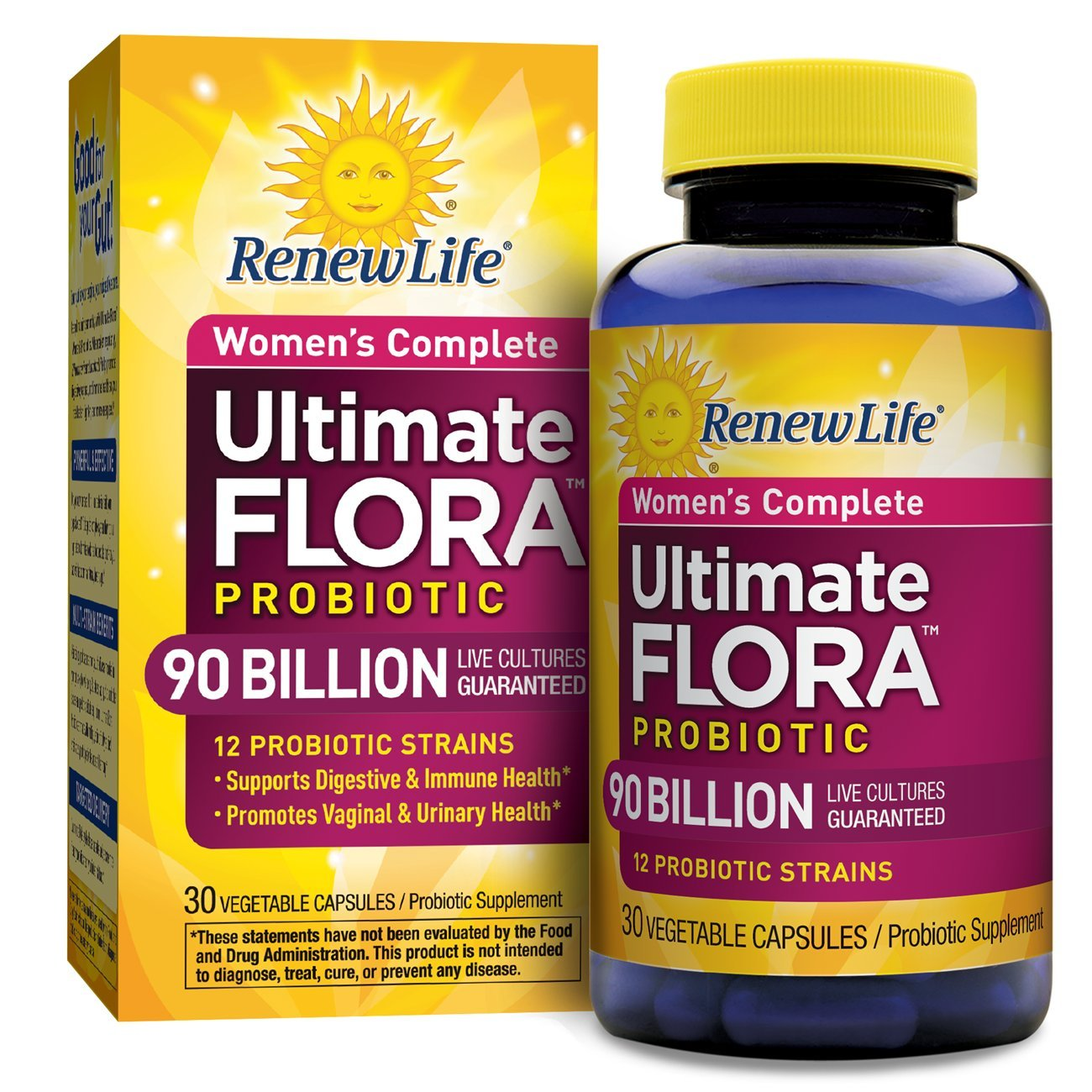 Renew Life Ultimate Flora - Women's Complete 90 Billion 30 vcaps  B00CCCNISU