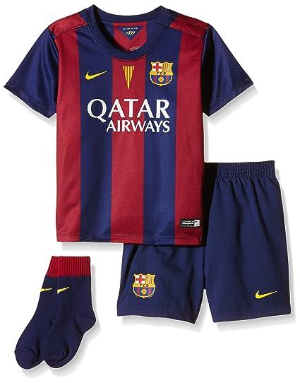 Nike FC Barcelona Infants Home Kit  LOYAL BLUE 2-FULL SPONSOR SUNLIGHT 2d6f626da