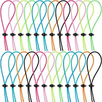 Universal Size Includes 14 Pieces Adjustable Swimming Goggle Straps Replacement Bungee Straps 14 Pieces Cord Lock Clamps for Swimming Goggles Frienda 14 Sets Bungee Cord Strap Kit