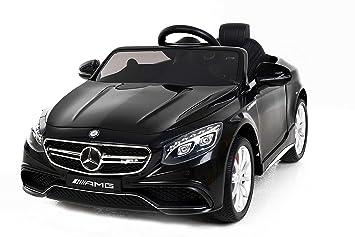 Pour Jouet Originale S63 Riricar Électrique Mercedes Amg Voiture MoteursNoirLicence EnfantDeux 5ARjLSc34q
