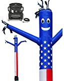 LookOurWay Air Dancer Sky Inflatable Puppet American Flag Combo Set, 20-Feet