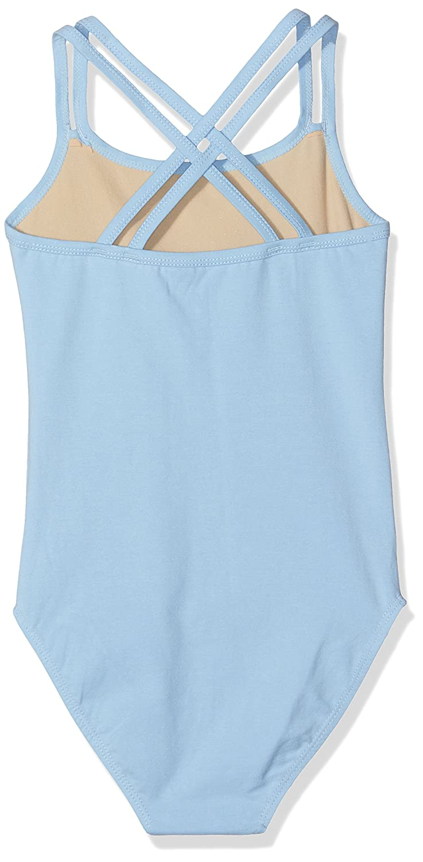 SANSHA Y1559C STEFANI Vêtements de danse Justaucorps fines bretelles pour  Fille - Bleu Clair - EU  150 cm 16 ans (Taille Fabricant  H)  Amazon.fr   Sports et ... e05400c99fc