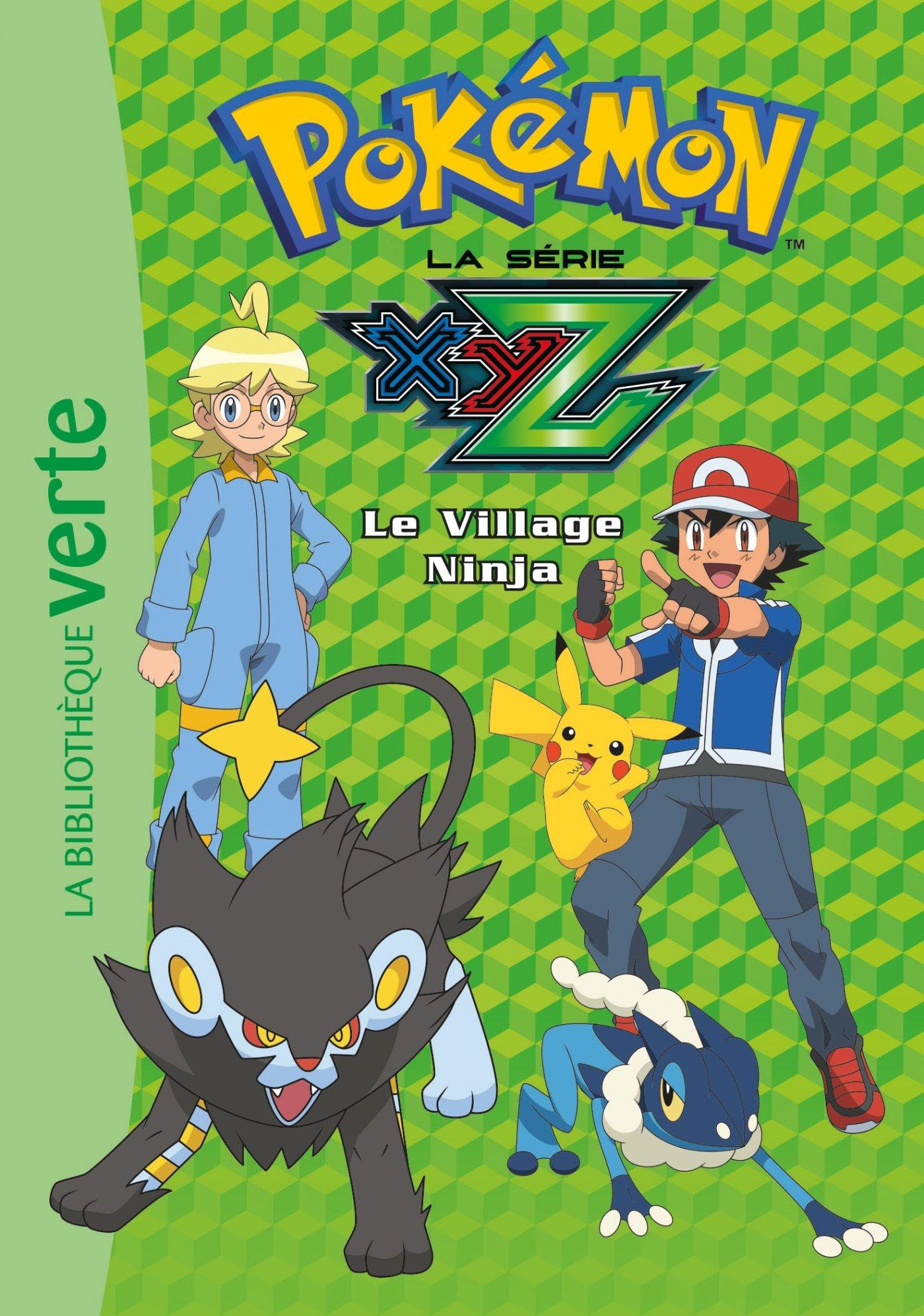 Pokémon 31 - Le Village Ninja Ma Première Bibliothèque Verte ...