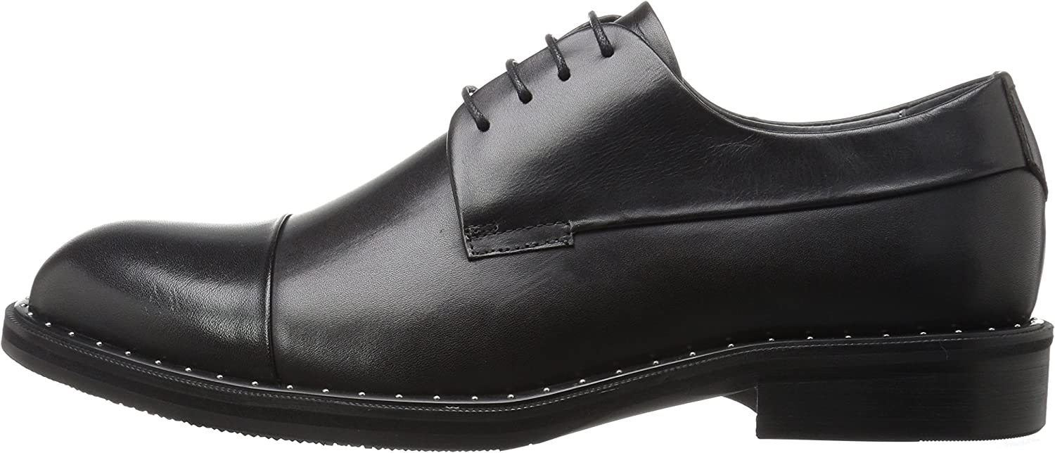 ZANZARA Becket Cap Toe Casual Tuxedo Oxford Shoes for Men