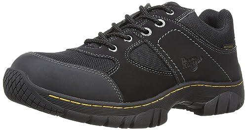 Dr Martens Industrial Unisex Gunaldo Safety Trainers Black 3 Uk New