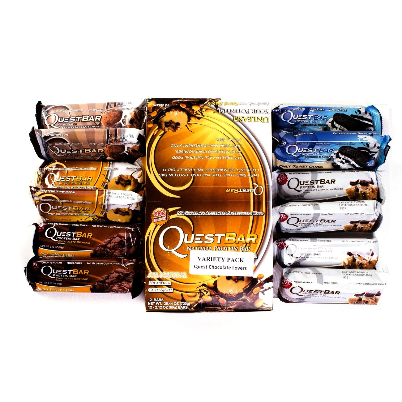 Quest Bar Chocolate Lovers Variety Pack