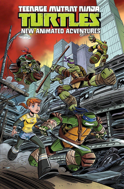Teenage Mutant Ninja Turtles: New Animated Adventures Volume 1 by Nickelodeon
