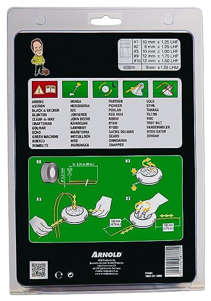 Arnold magnética cabezal de hilo, AT21, para motor Testrut a ...