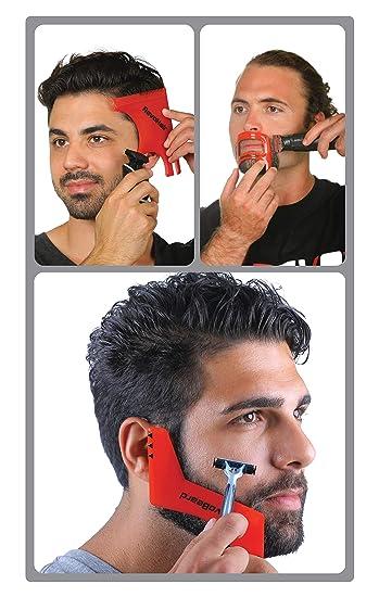 Amazon Com Revo Hair Goatee Beard Trimmer Template Mens