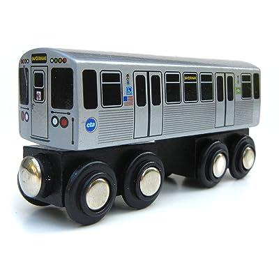 Munipals CTA Chicago 'L' Pink Line Train: Toys & Games