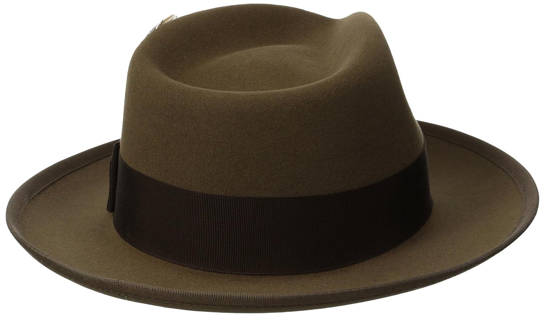 6291a8a5996 Stetson Men s Whippet Royal Deluxe Fur Felt Hat  Amazon.co.uk  Clothing