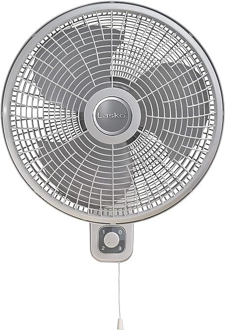Lasko M16900 - Ventilador oscilante de pared para uso en ...