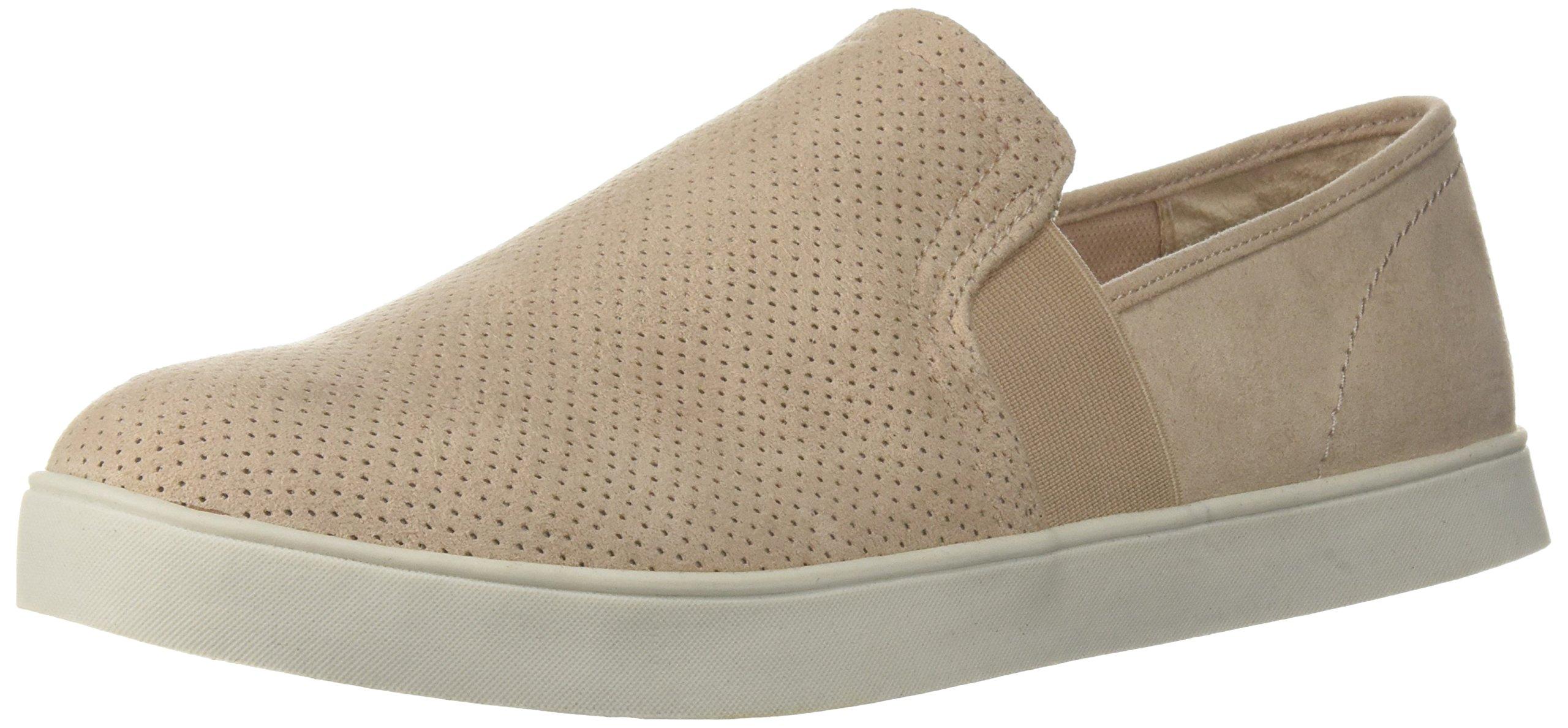 Dr. Scholl's Shoes Women's Luna Sneaker, Blush Microfiber Perforated, 7.5 M US