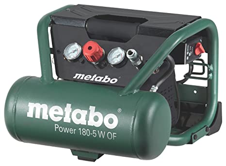 Metabo Power 180-5 W OF - Compresor 1,5 CV 5 litros sin