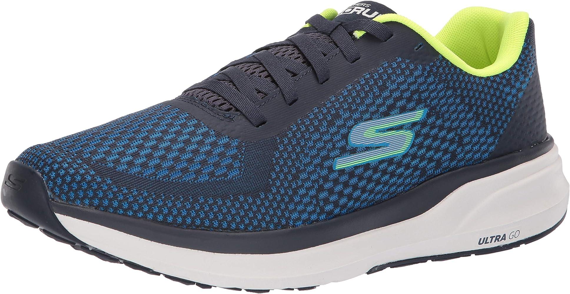Skechers 55216-BLLM_39,5, Zapatos para Correr para Hombre, Blue ...