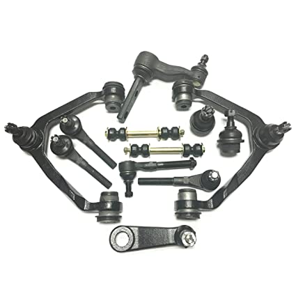 PartsW 12 Pc Suspension Kit For Ford F 150 Expedition F 250 Lincoln Navigator 2 Lower Ball Joints 2 Upper Control Arm With 2 BALL JOINTS Assembly