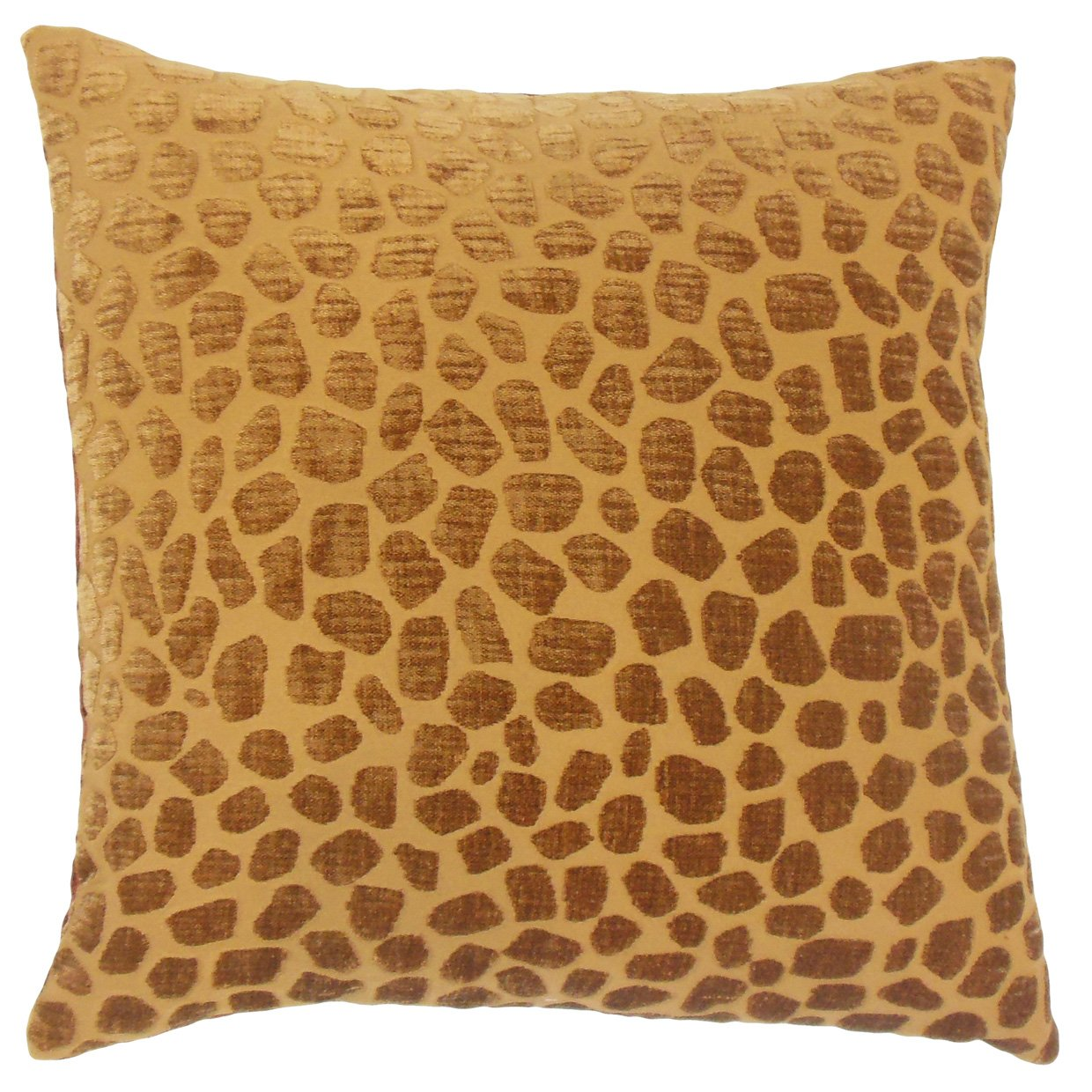 Ginger The Pillow Collection P18-MER-M9252-GINGER-P100 Lameez Geometric Pillow